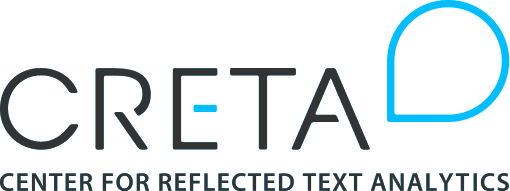 Center for Reflected Text Analytics (CRETA)